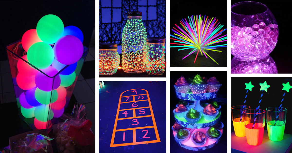 Glow In The Dark Ideas And Designs
