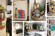 Small Kitchen Storage Organization Ideas