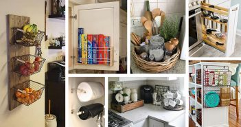 Small Kitchen Storage Organization Ideas