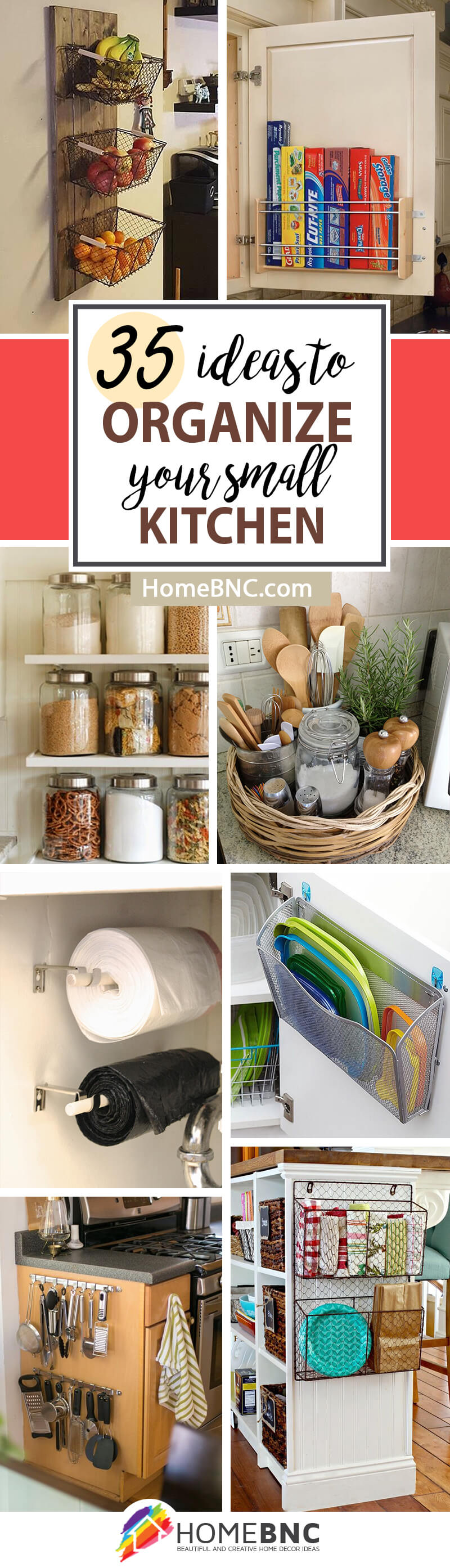 Small kitchen storage ideas 26 ingenious diy ideas for small spaces inspiring white cabinet - Kitchen organization ideas small spaces paint ...