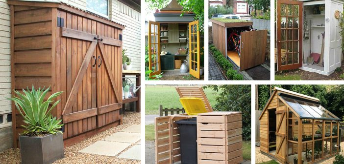 27 Best Small Storage Shed Projects (Ideas and Designs) for 2018