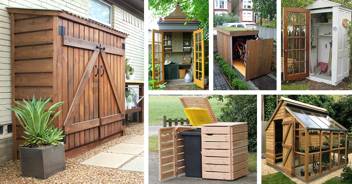 27 Best Small Storage Shed Projects (Ideas and Designs) for 2019 Backyard Storage Building Ideas on shed skirting ideas, bathroom storage building ideas, storage building design ideas, backyard storage cabins, rv storage building ideas, backyard storage house ideas, backyard storage building plans, backyard storage room ideas, underpinning ideas, small storage building ideas, storage container ideas, wooden swing set building ideas, cabin building ideas,
