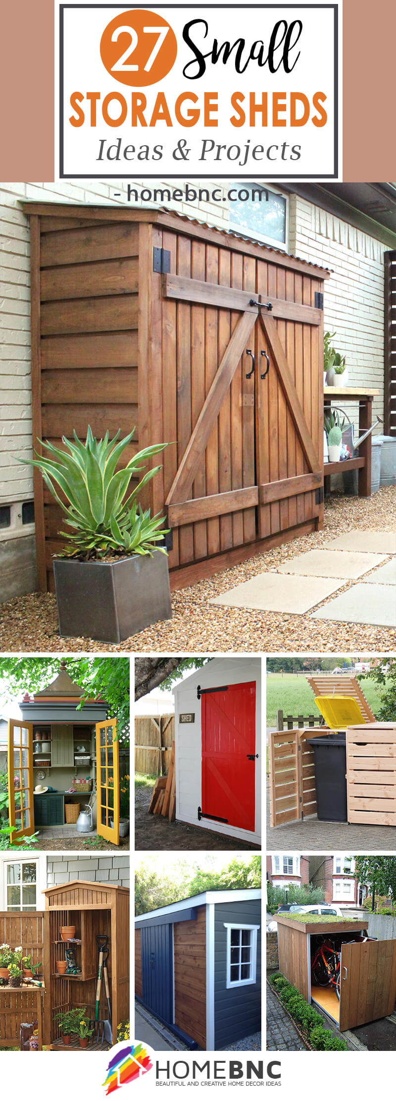 Superbe 27 DIY Small Storage Shed Projects For Your Garden