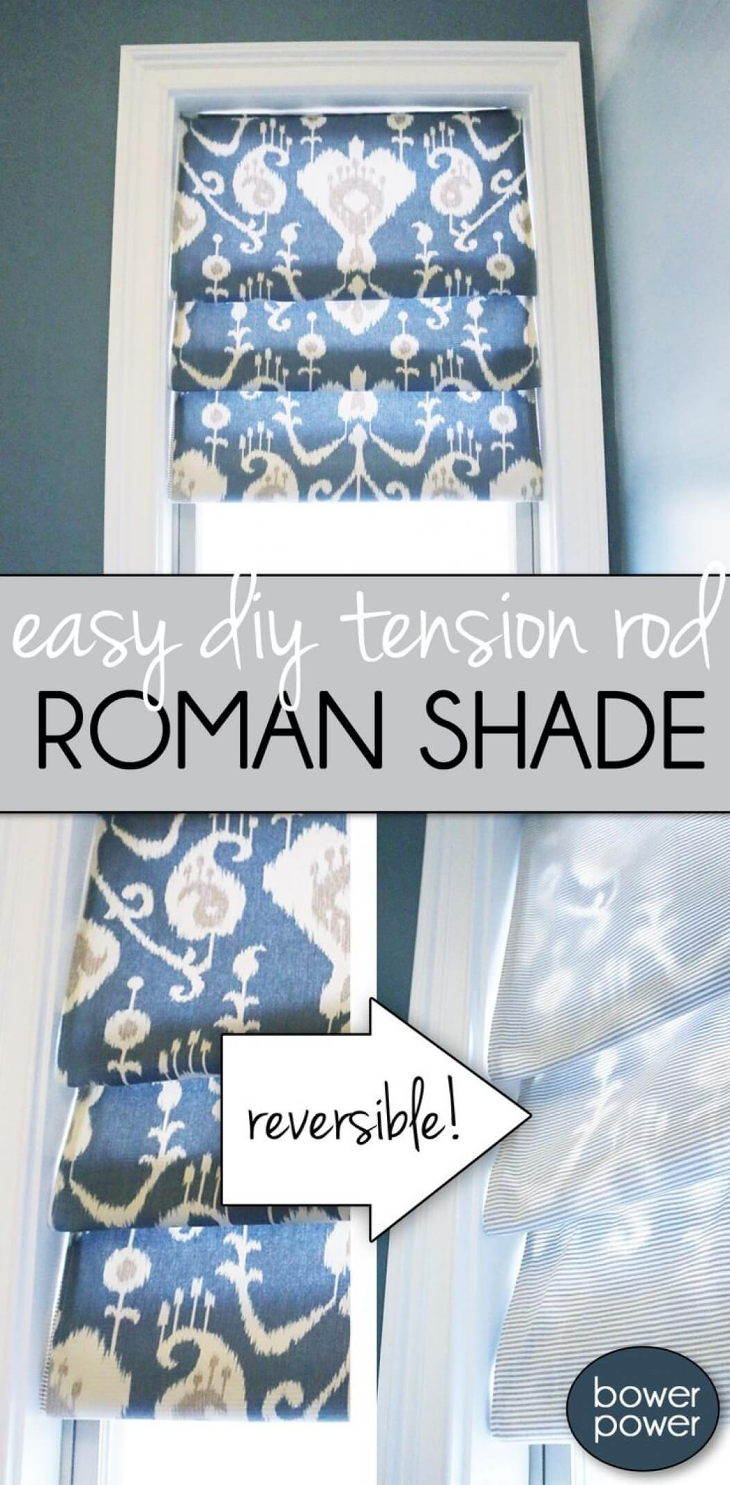 Try Your Hand at a Roman Shade