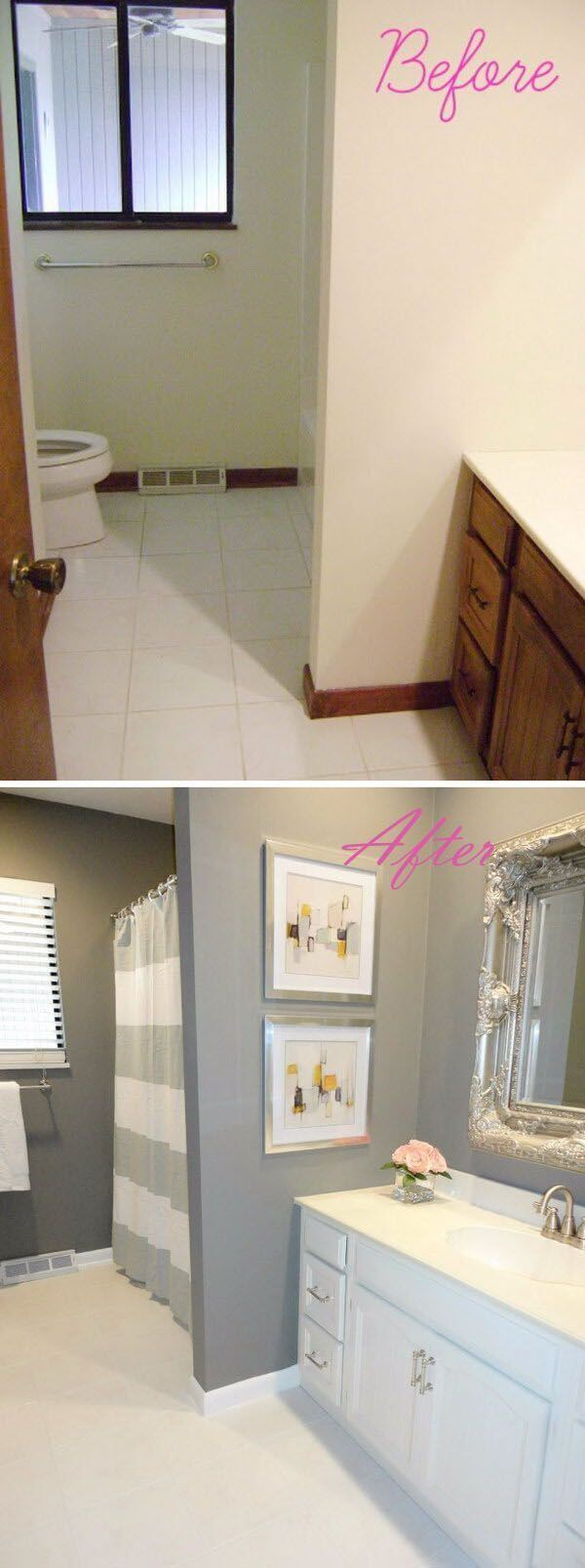 Best Budget Friendly Bathroom Makeover Ideas And Designs For - How to update your bathroom on a budget