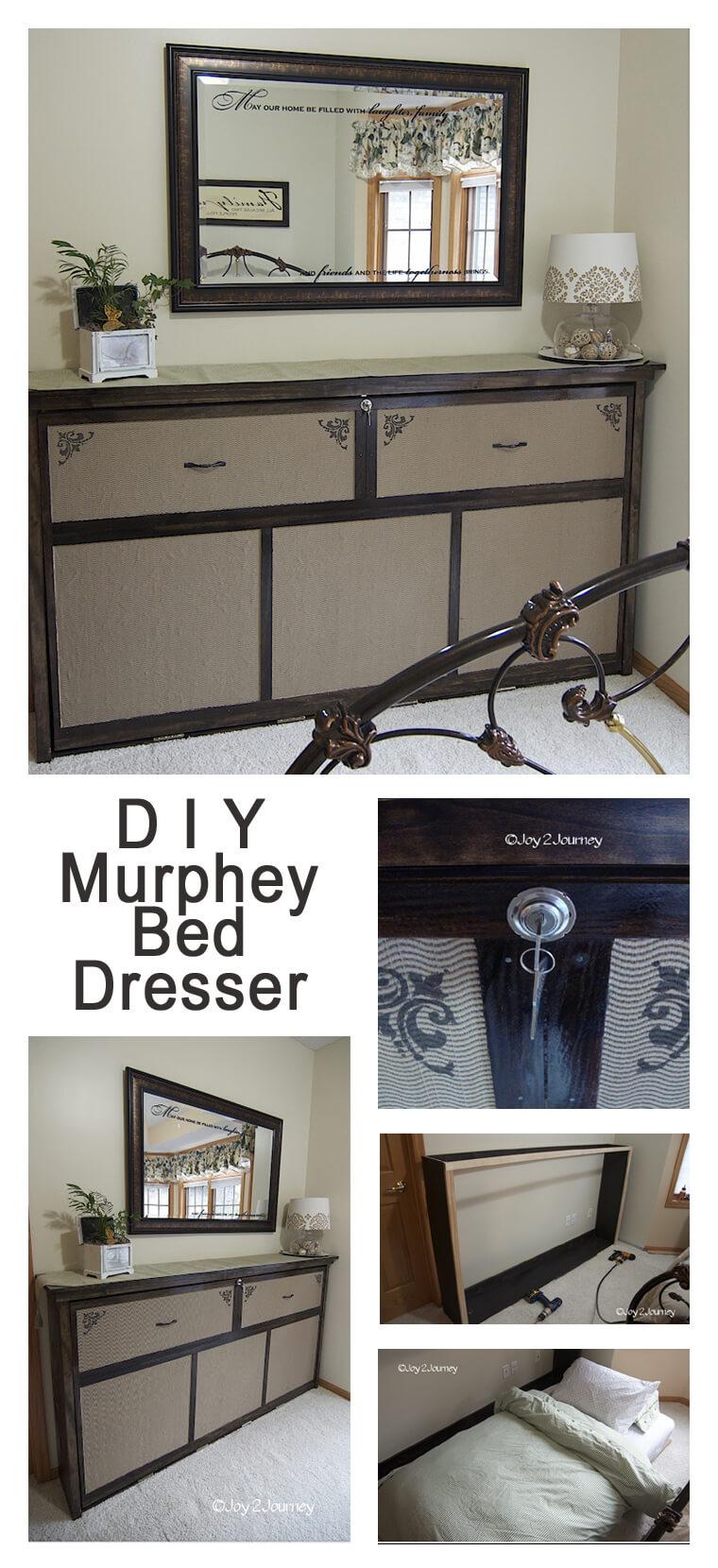 Die 18 besten DIY Murphy Bed Ideen, um Ihren Raum zu maximieren