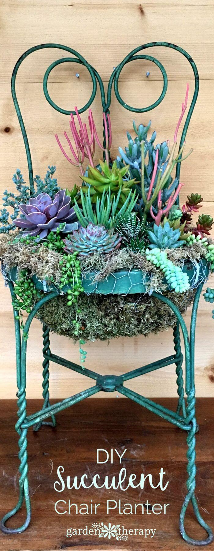 24 Best Repurposed Old Chair Ideas And Designs For 2019
