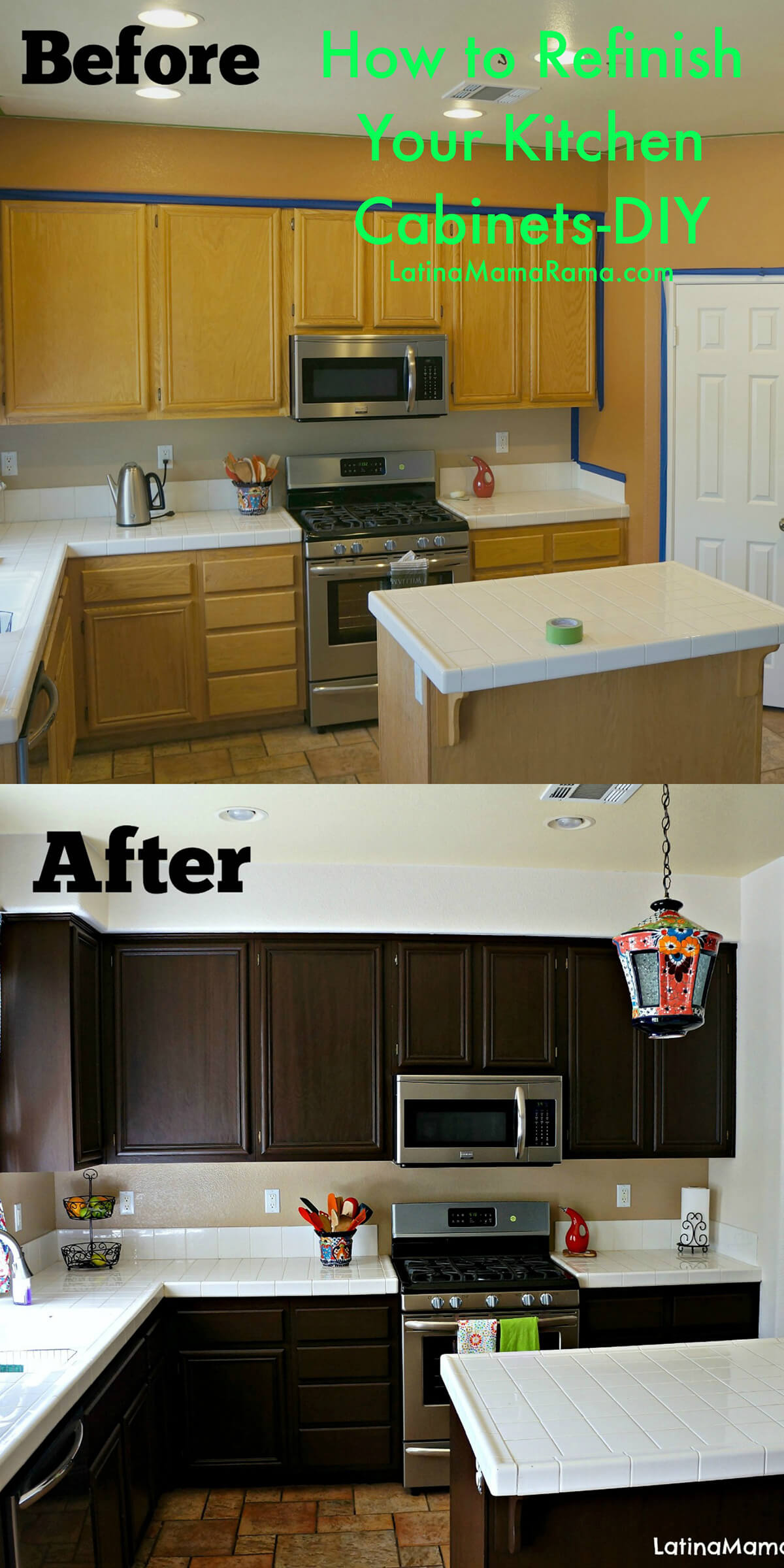 Budget Friendly Kitchen Makeover: 25+ Before And After: Budget Friendly Kitchen Makeover