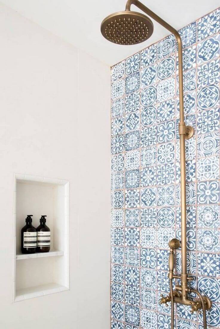 after fashion revamp in tile rustic to tiles gallery idea showers shower view your
