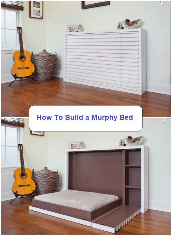 Mantle by Day, Murphy Bed by Night