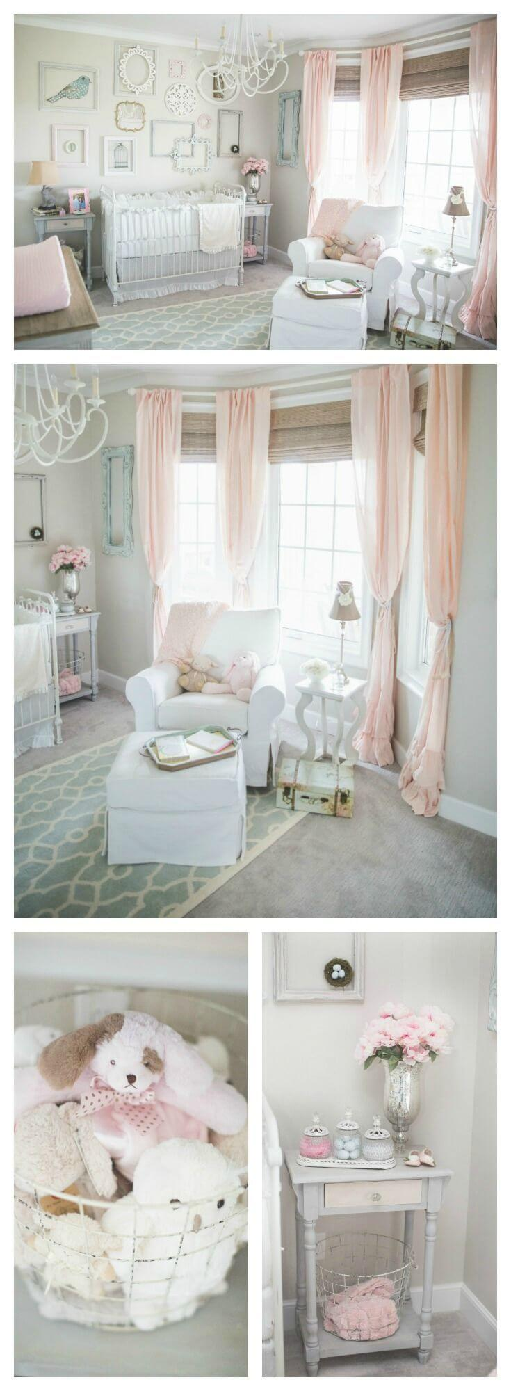 Shabby Chic Works In the Nursery Too