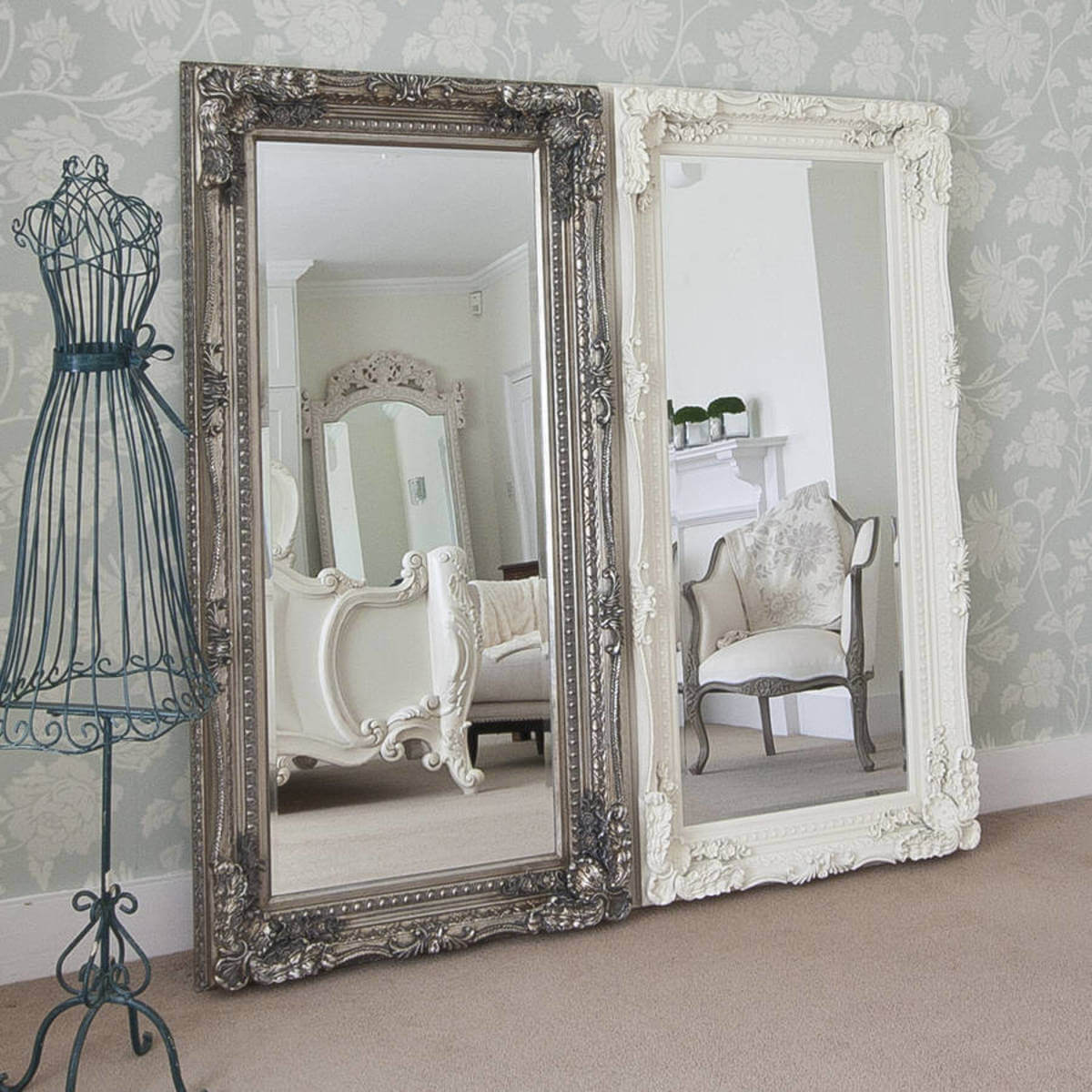 Through The Looking Glass Updated Baroque Mirror Set