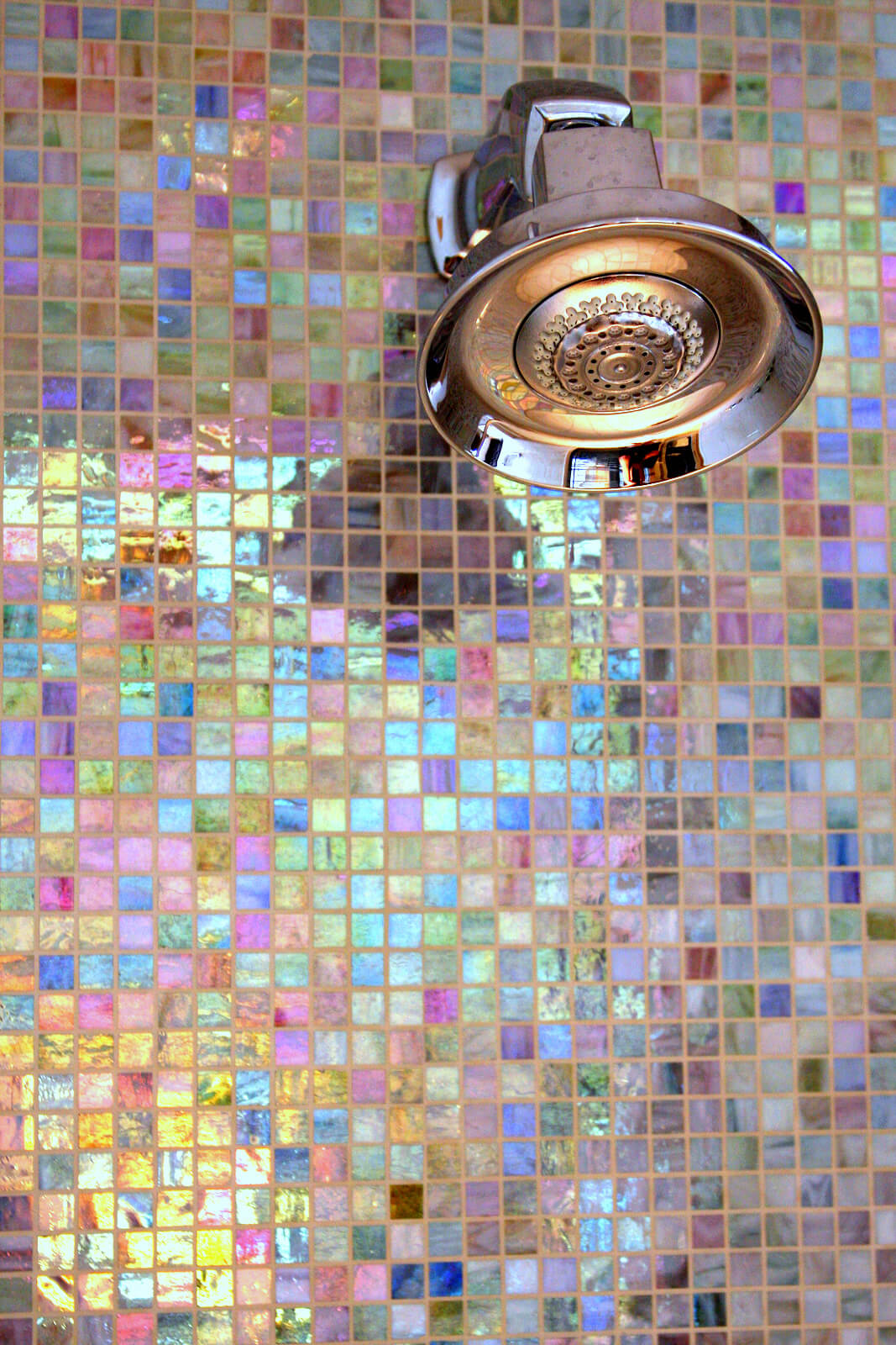 Multi Color Mosaic Tile Squares Part 86
