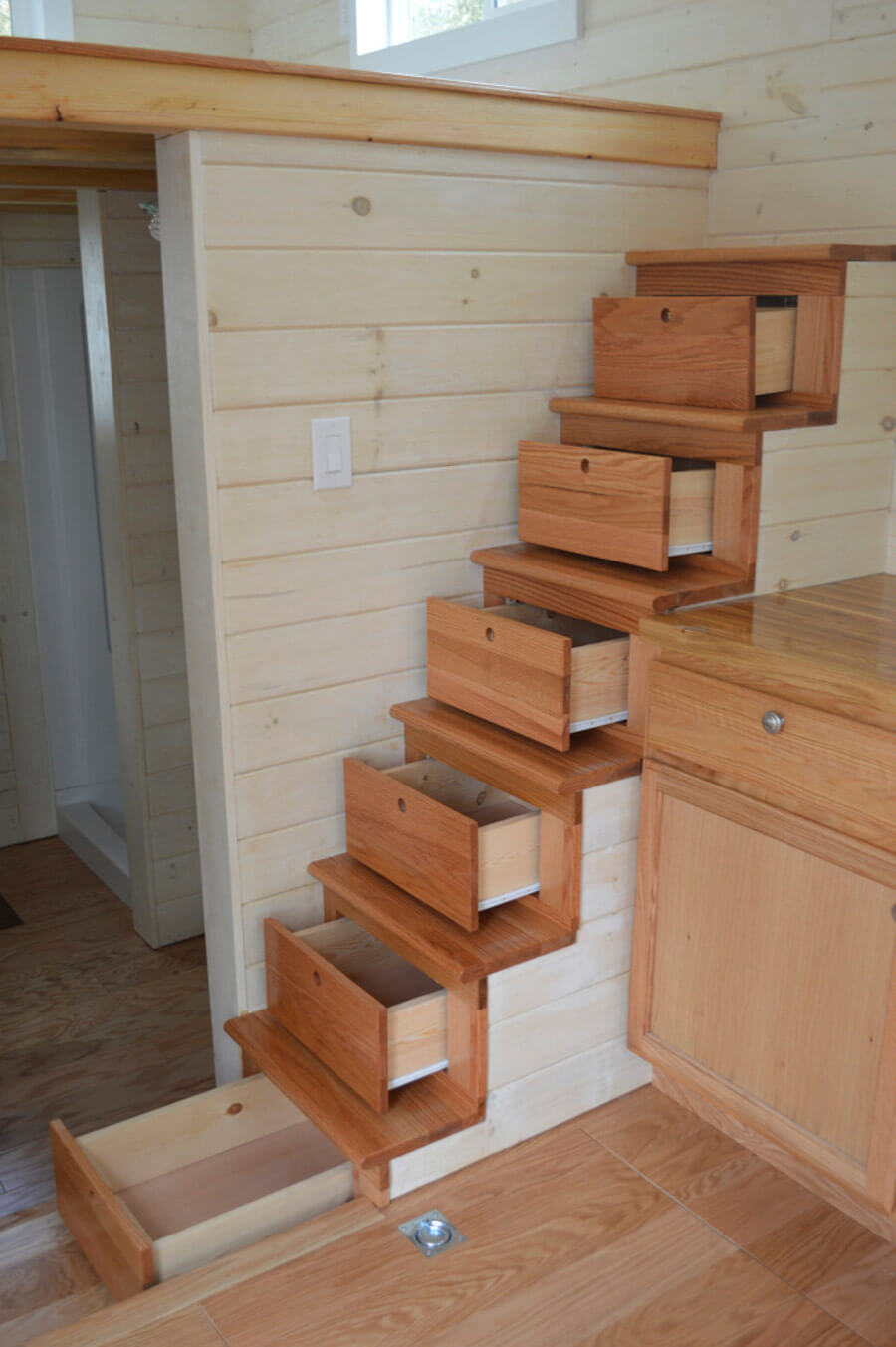 Stair Drawers: Expert Level Storage