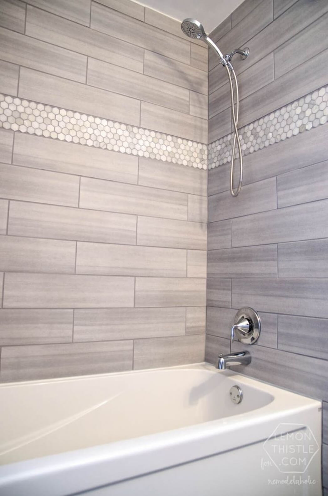 Lapland Pearl Two Tone Tile Pattern