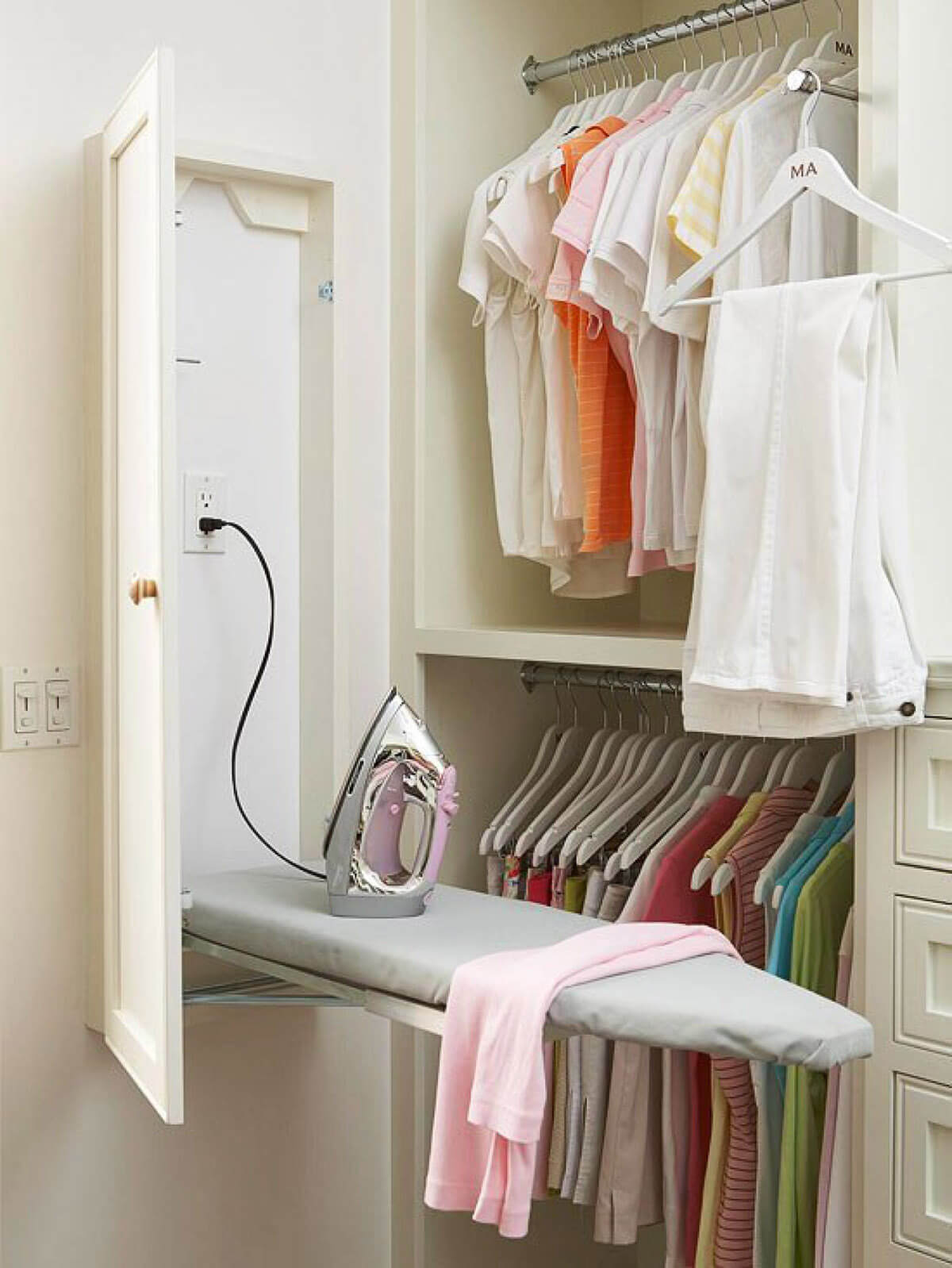 This Fold-up Ironing Board is a Closet Space-saving Essential