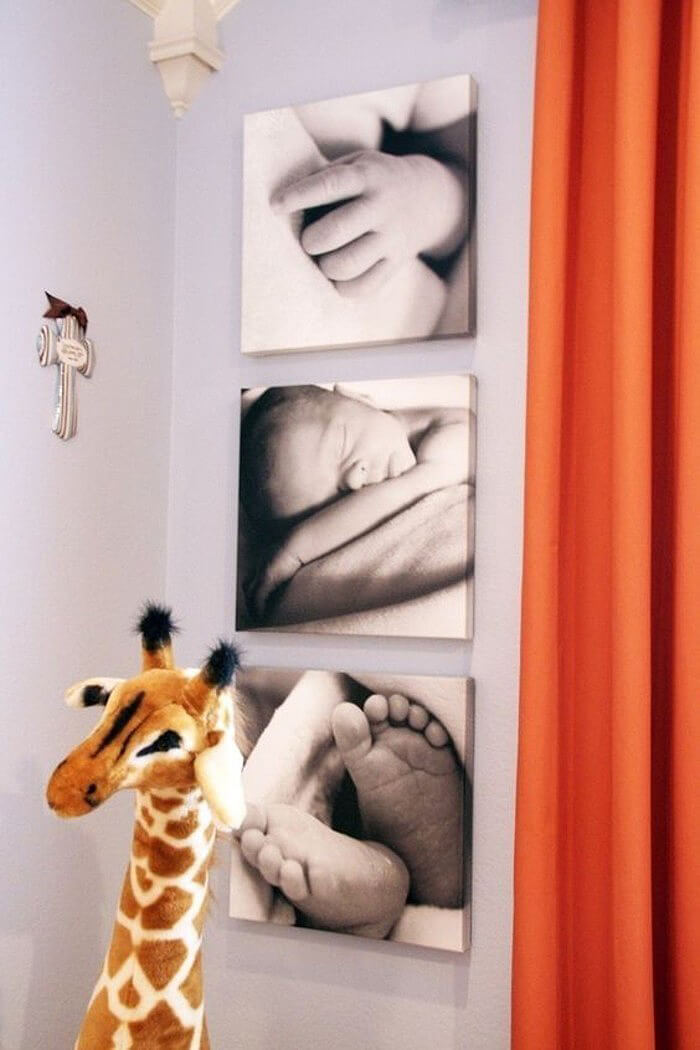 Artsy Newborn Photos Add Pop