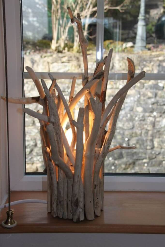 Crown Of Branches Window Lamp