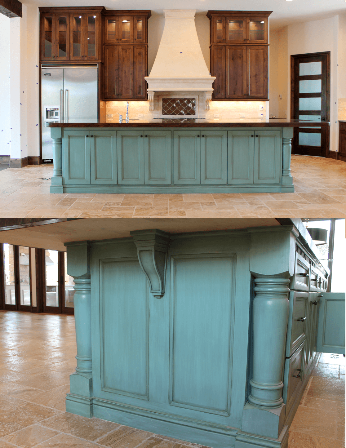 100 new kitchen cabinet colors ideas livelovediy for Kitchen cabinet paint colors ideas