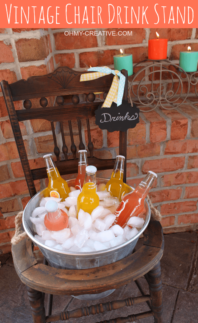 An Ice Bucket Stand for Family Gatherings