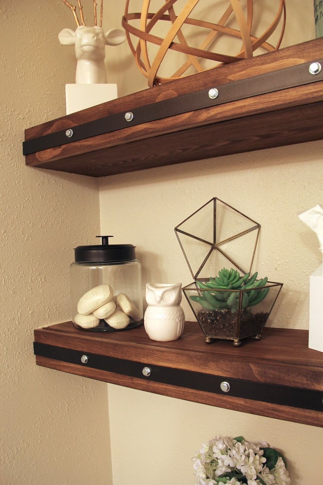 27 best diy floating shelf ideas and designs for 2017 Floating shelf ideas for kitchen