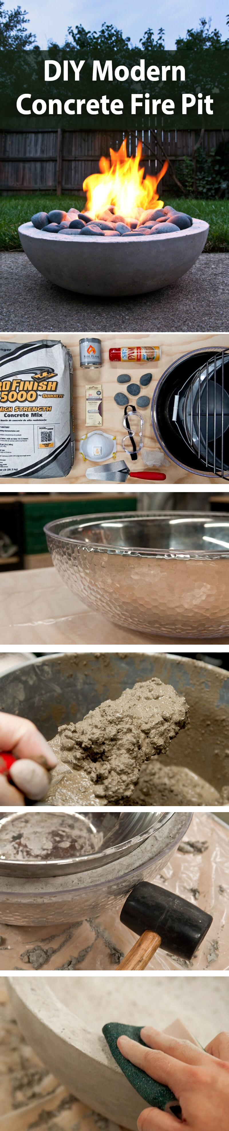 12 diy table top fire bowls ideas homebnc Top Result 50 Awesome Backyard Creations Fire Pit Picture 2018 Ojr7