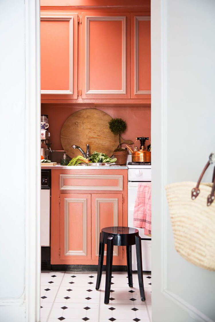 Applying 16 Bright Kitchen Paint Colors: 23 Best Kitchen Cabinets Painting Color Ideas And Designs