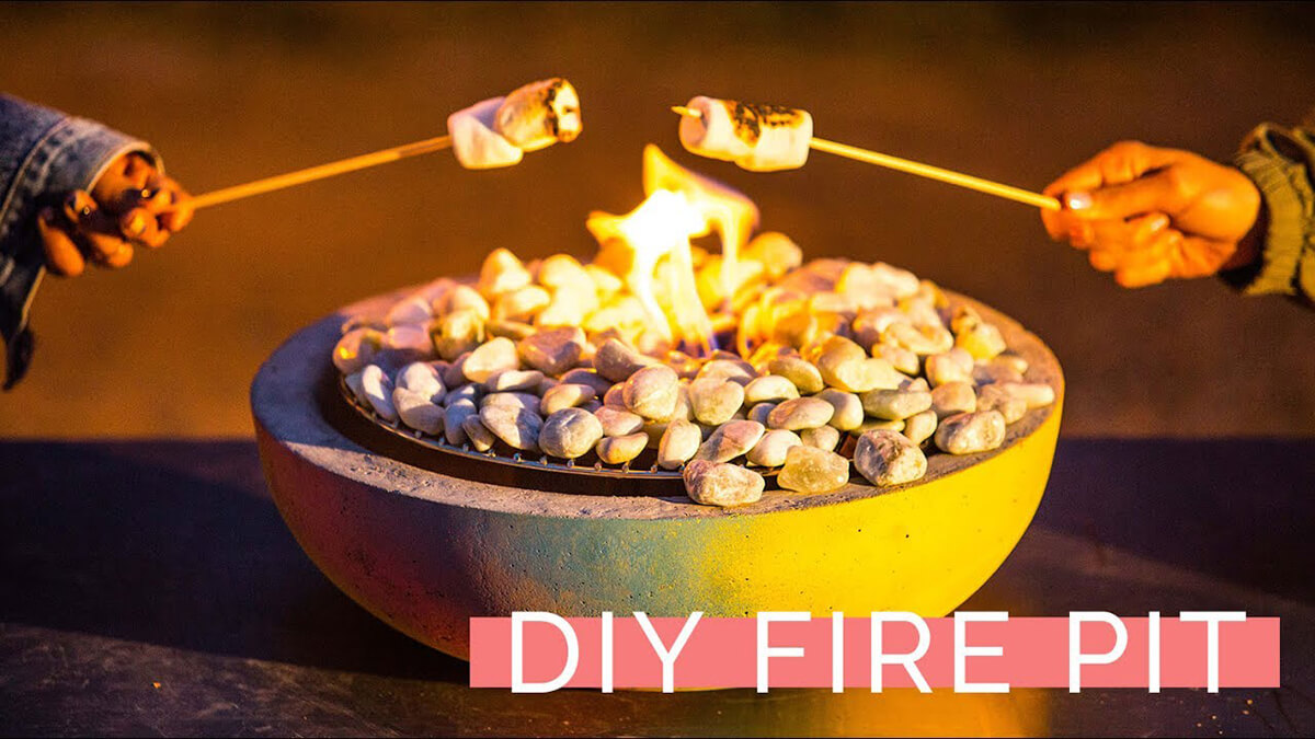 17 Best Diy Table Top Fire Bowls Ideas And Designs For 2020