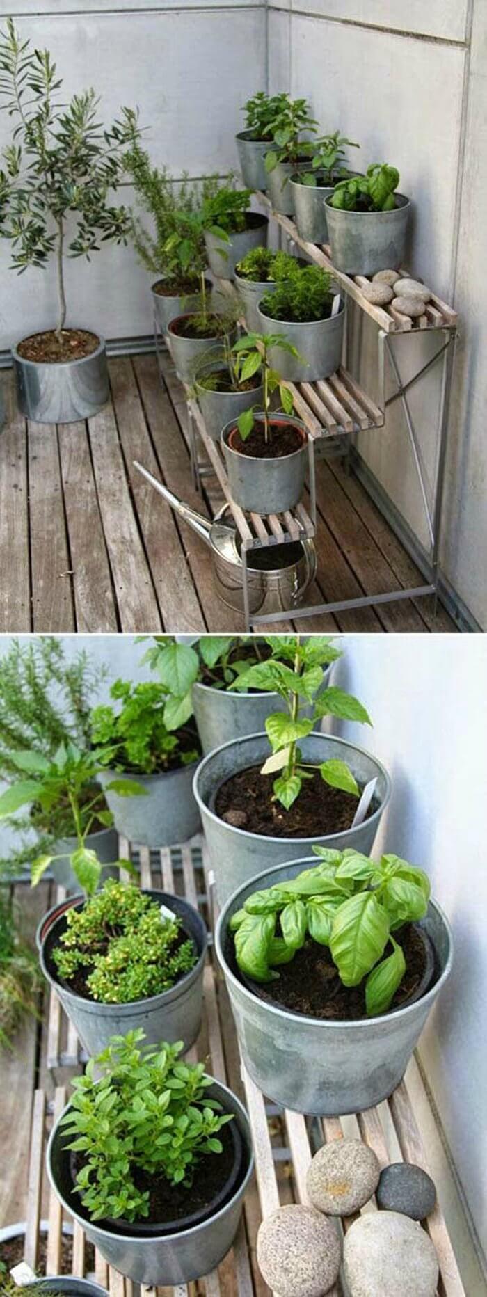 'Step-Up' Herb Garden