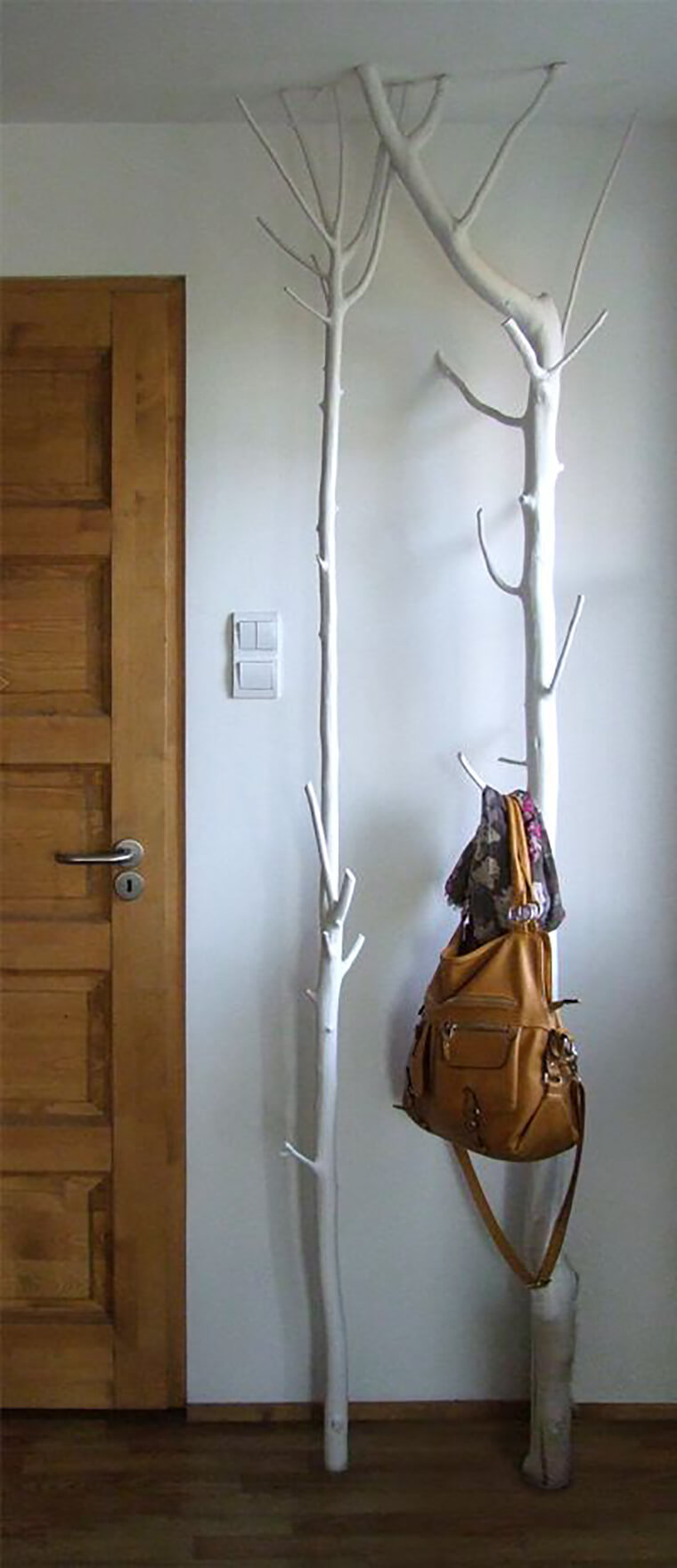Floor-To-Ceiling Forested Hook Stand