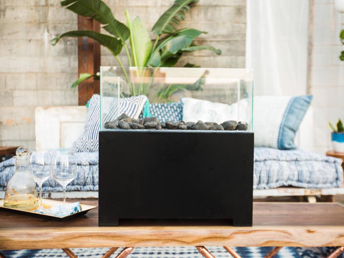 17 einfach zu machen DIY Tischplatte Feuerschalen