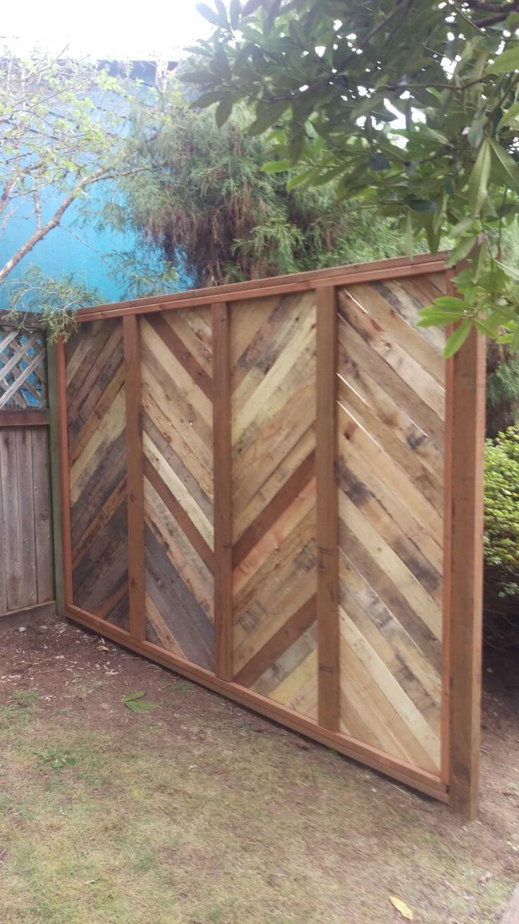 Consider a Wooden Wall Instead of a Shed