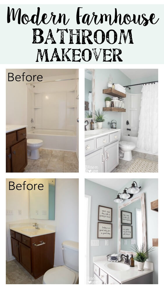 Tremendous 28 Best Budget Friendly Bathroom Makeover Ideas And Designs Best Image Libraries Thycampuscom