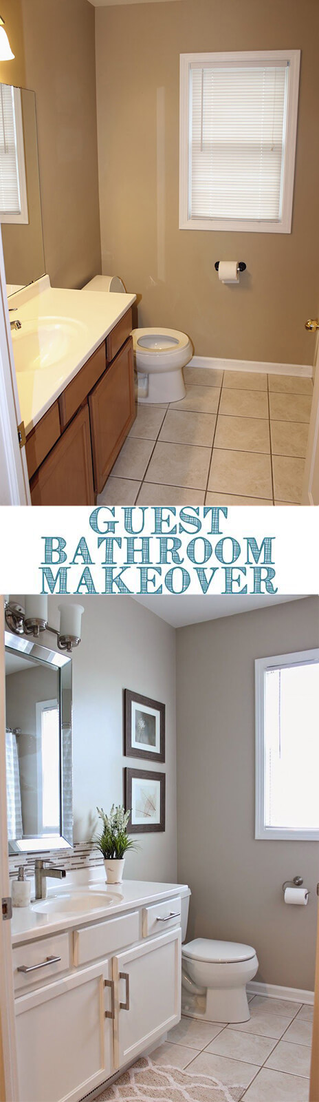 28 Best Budget Friendly Bathroom Makeover Ideas and ...