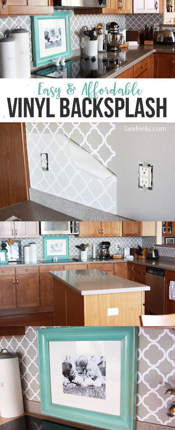 25 Best Diy Kitchen Backsplash Ideas And Designs For 2019