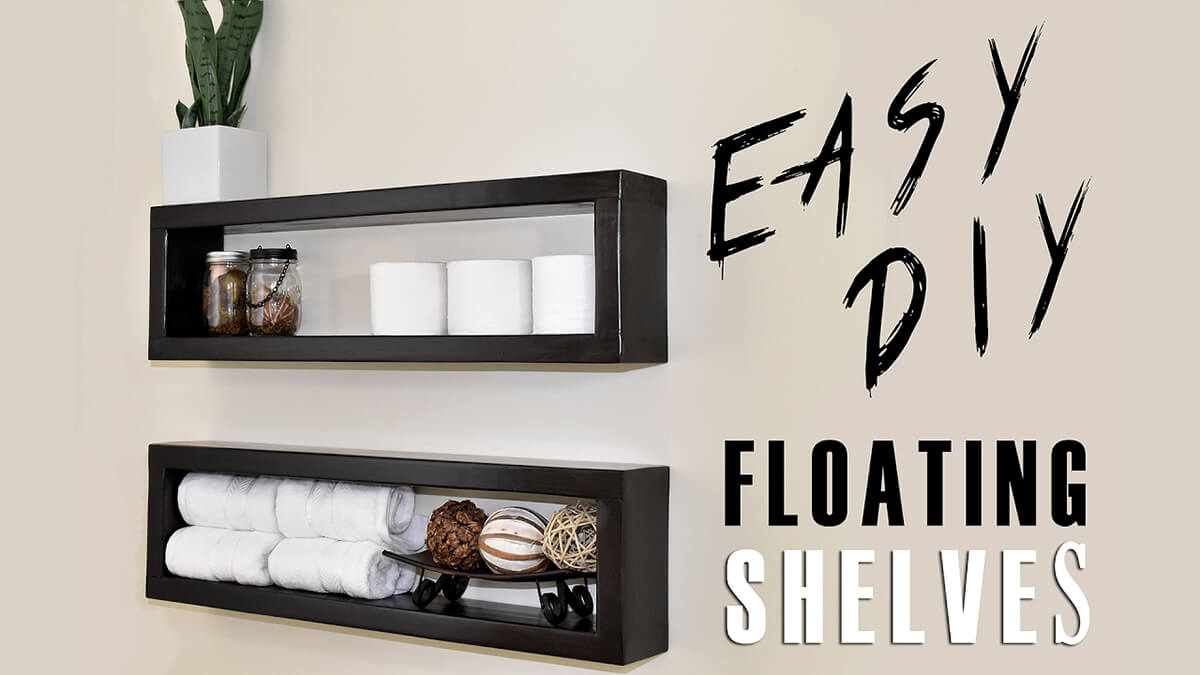 19 diy floating shelf ideas homebnc