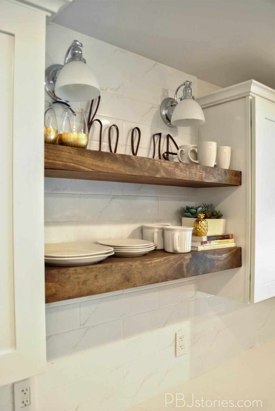 Floating Shelves Ideas Diy