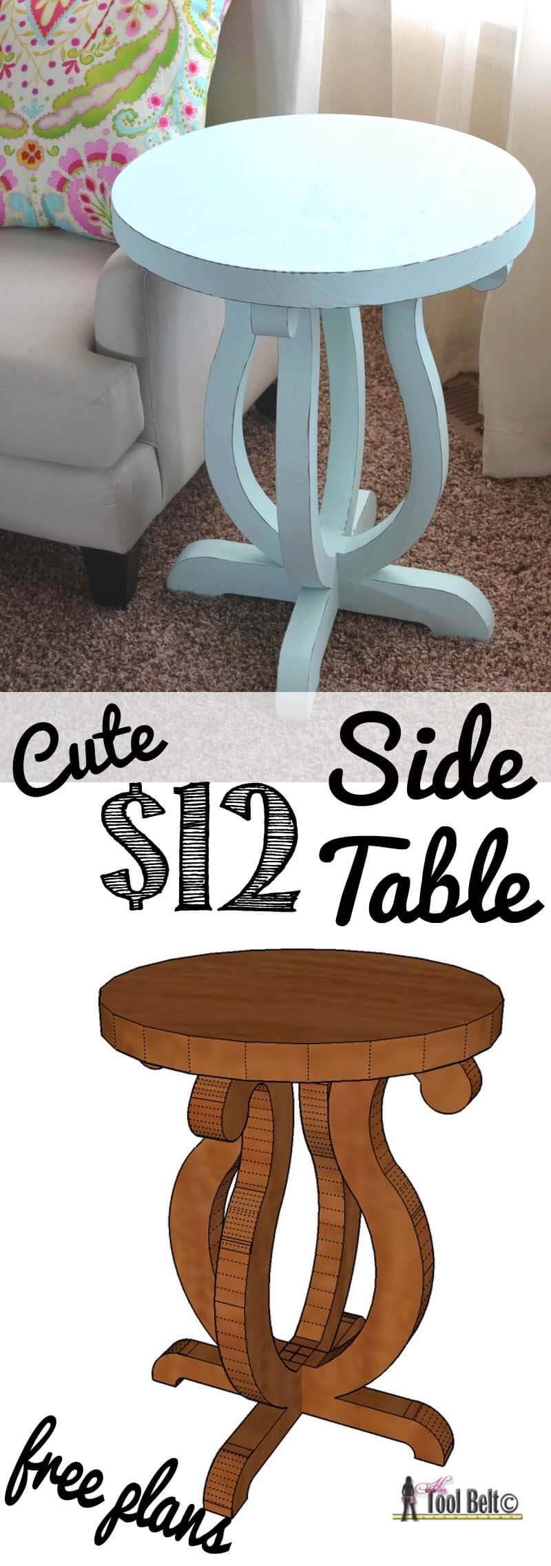 Simplified Splendor DIY Side Table