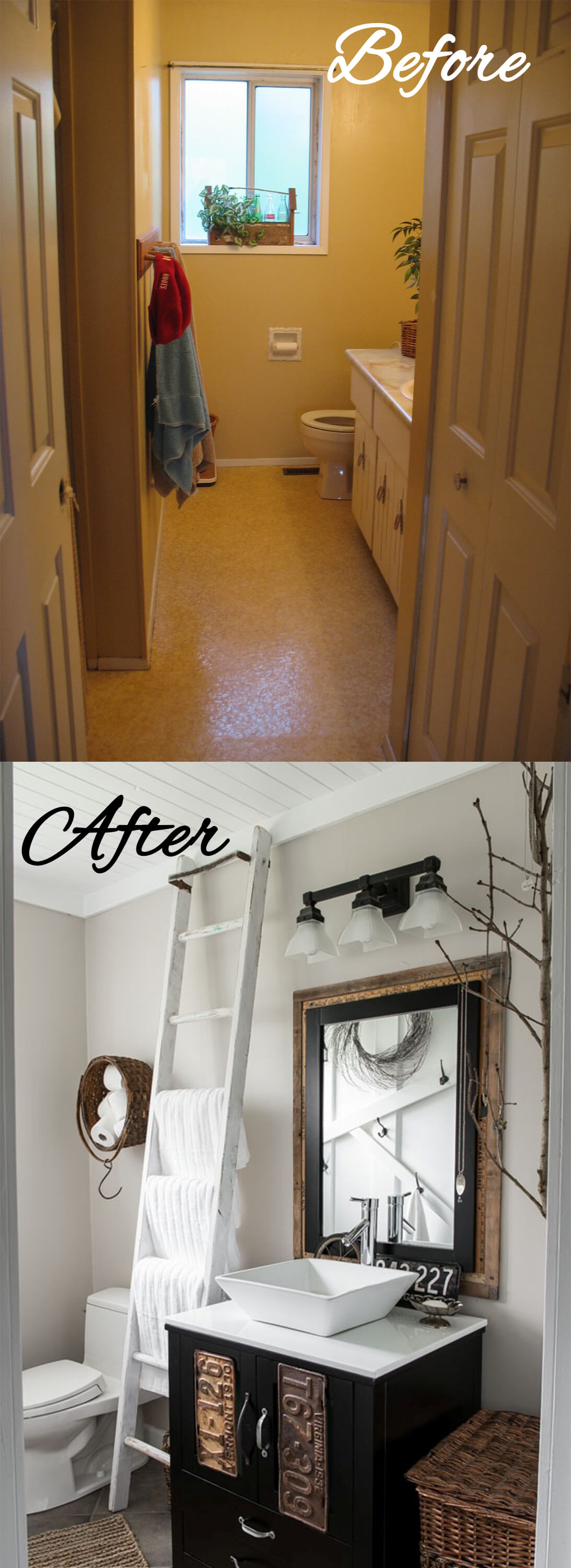 28 Best Budget Friendly Bathroom Makeover Ideas And