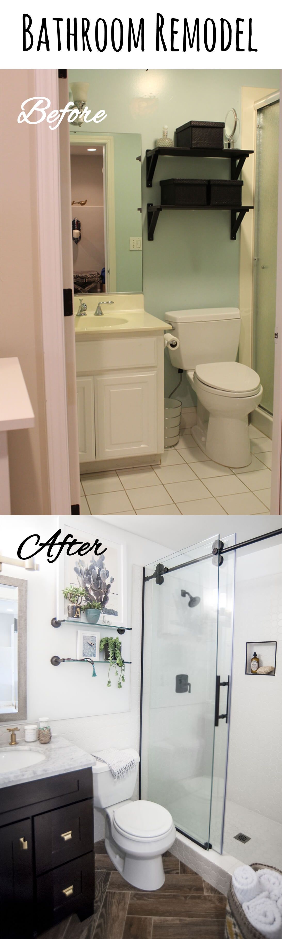 12 Best Budget Friendly Bathroom Makeover Ideas and Designs for 12