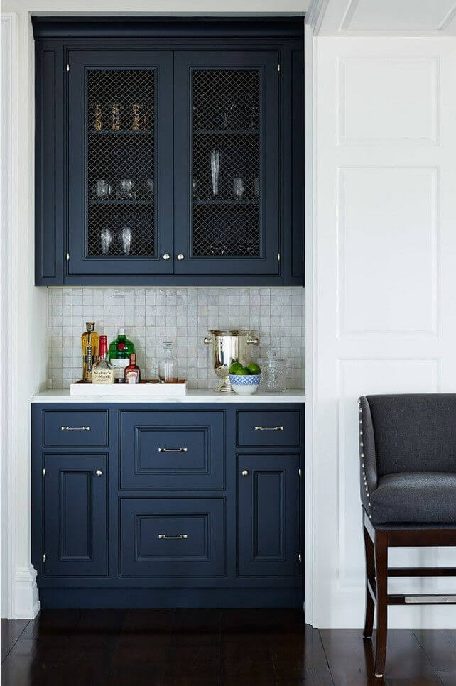 Rich Blues Pair Best with Silver Hardware