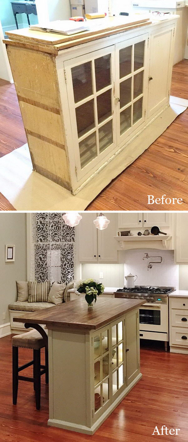 Delightful Kitchen Island with Storage