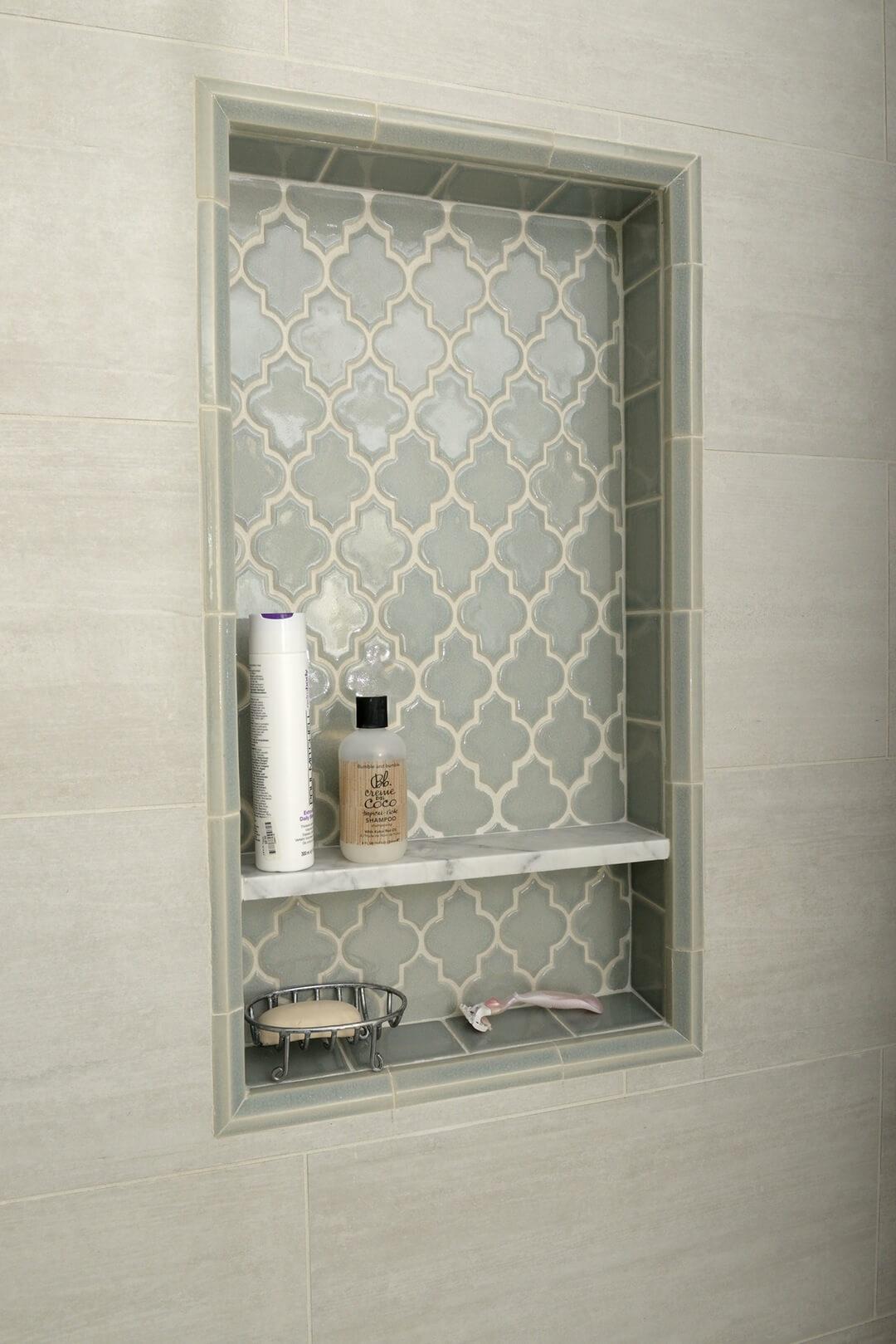 Persian Style Tumurid Shower Shelf