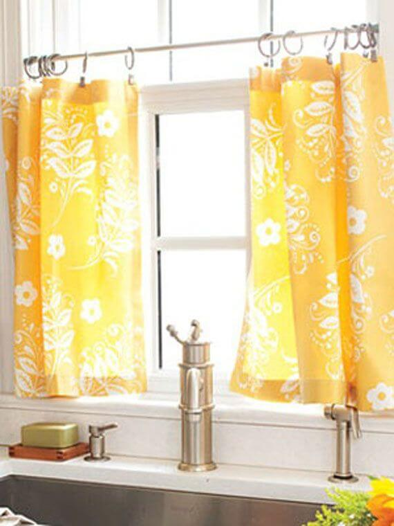 Hook and Ring Styles Aren't Just for Shower Curtains