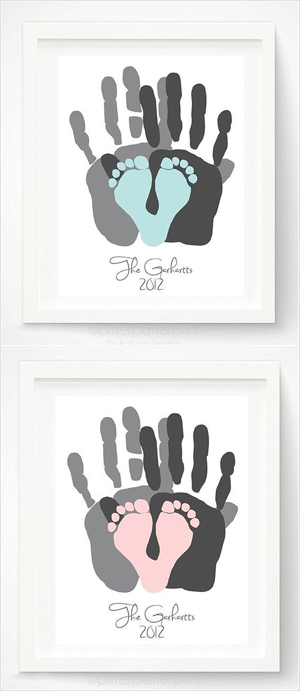 Creative Wall Art To Commemorate Birth