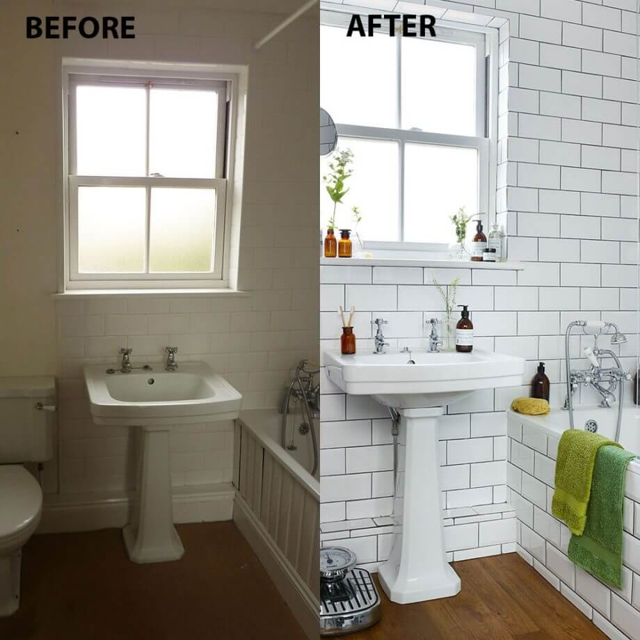Images Bathrooms Makeovers: 28 Best Budget Friendly Bathroom Makeover Ideas And