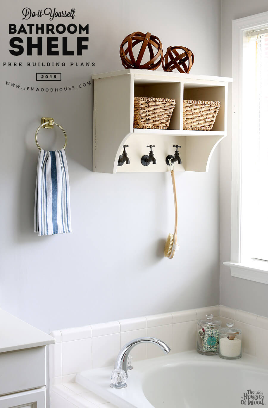 Wonderful  Space Bathroom Storage Ideas  DIY Network Blog Made  Remade  DIY