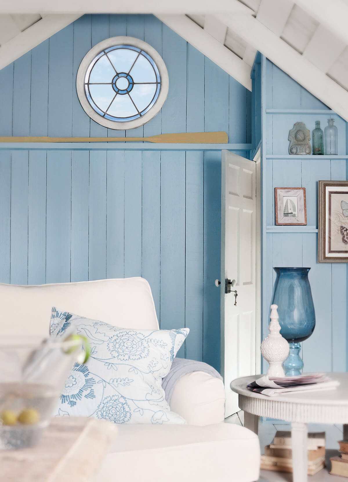 Ocean Blues Home Decor Inspiration for the Bathroom