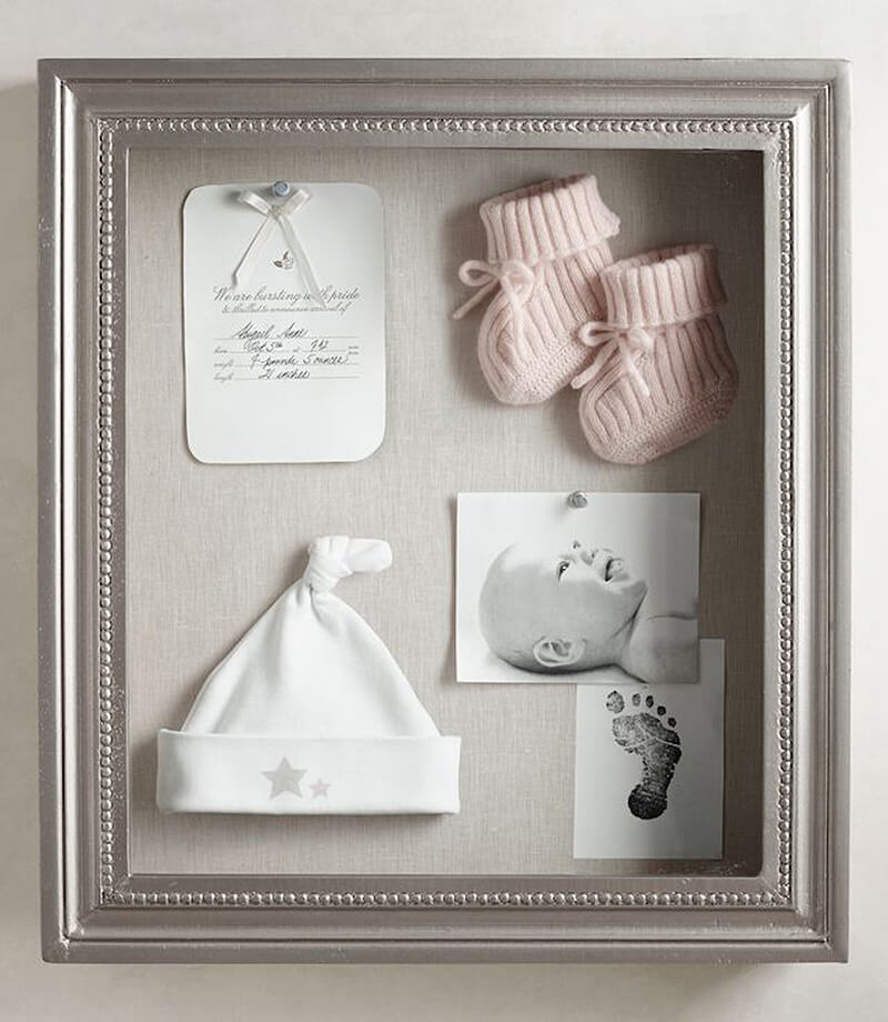 Turn Keepsakes into Art with Shadowbox Framing