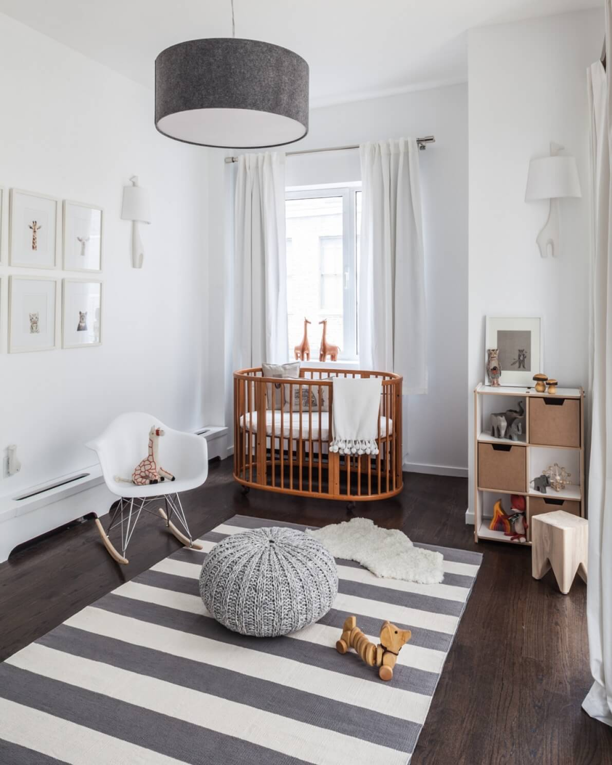 Scandi-inspired Nursery Color and Décor
